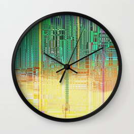 Atlante / CITIES over CITIES Wall Clock