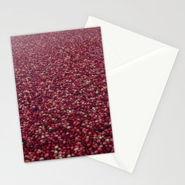 cranberry party Stationery Cards