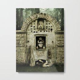 Earth spirit 1 - the dreaming goddess Metal Print