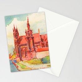 Vilnius - St. Anne's  Stationery Cards