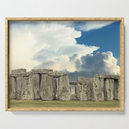 Stonehenge VI Serving Tray