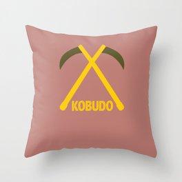 Kobudo japanese martial arts gift idea gift Throw Pillow