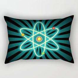 Atom Rectangular Pillow