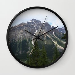 Rocky Mountain High Wall Clock