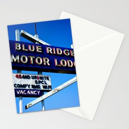 Blue Ridge Motor Lodge Stationery Cards