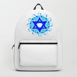Jewish Star Backpack