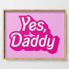 Yes, Daddy Parody DDLG design Serving Tray