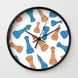 Chess Mate Wall Clock