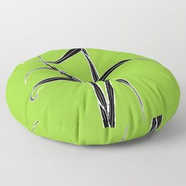 Spider Orchid Floor Pillow