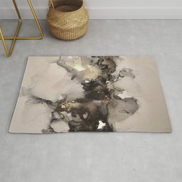 Reverie Alcohol Ink abstract art  Rug