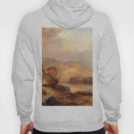 Autumn Landscape 1867 By Thomas Moran | Scenic Landscape Reproduction Hoody