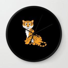 Tiger Baby Wall Clock