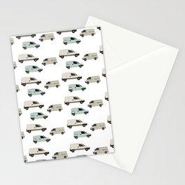 van pattern Stationery Cards