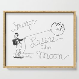 It's a Wonderful Life - George Lassos the Moon Serving Tray