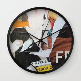 Berlin Posters-FR Wall Clock