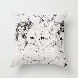 Dionysus Tree Throw Pillow
