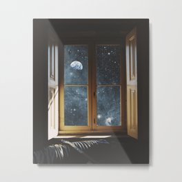 WINDOW TO THE UNIVERSE Metal Print