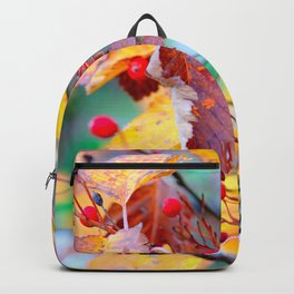 Classy Hawthorn Berries In Autumn Backpack