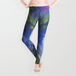 At The Speed of Blue Leggings