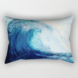 Waves II Rechteckiges Kissen