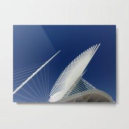 Milwaukee IV Architecture by CALATRAVA architect Metal Print