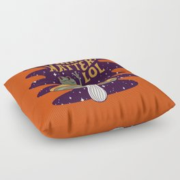 Nothing Matters Frog Floor Pillow