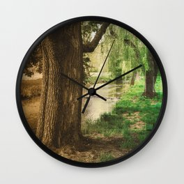 Nature Old to New Wall Clock