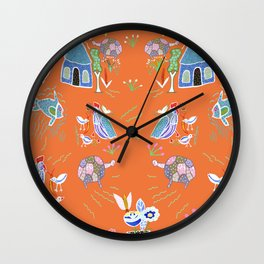 Life in Africa Wall Clock