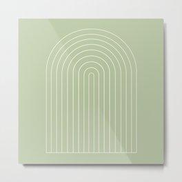 Minimalist Arch XVII Metal Print
