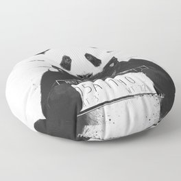 Bad panda Floor Pillow