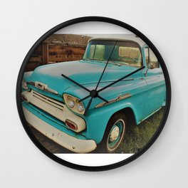Sapphire Ride II Wall Clock