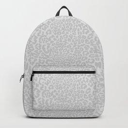 Snow Leopard Print Backpack