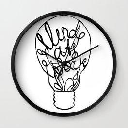 Mind at Work Wall Clock