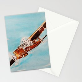 Avion blue horizon Stationery Cards