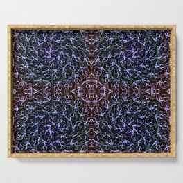 Ascension Convergence Pattern Serving Tray