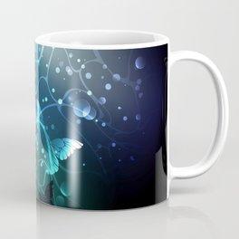 Bright Night Butterflies Coffee Mug