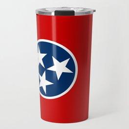 Flag of Tennessee Travel Mug