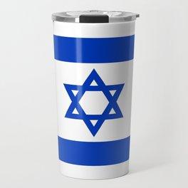 Israeli Flag of Israel Travel Mug
