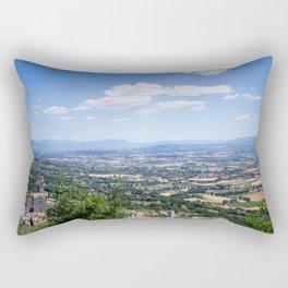 Cortona, under the tuscan sun Rectangular Pillow