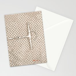 HORSE BITS III Stationery Cards