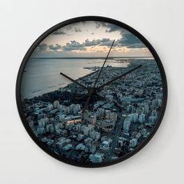 Fragile Dreams - Limassol Wall Clock