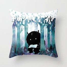 A Quiet Spot Throw Pillow