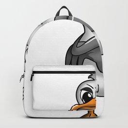 PLATTDEUTSCHER SPRUCH MÖWE Backpack