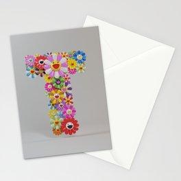 "Takashi Murakami ""T"" letterr Stationery Cards"