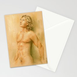 Adonis - Male Nude Stationery Cards