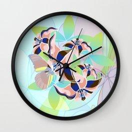 Tanz der Lilien - Dance of the Lilies Wall Clock