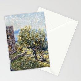 Lemon Tree at Home Aegina Greece Stationery Cards