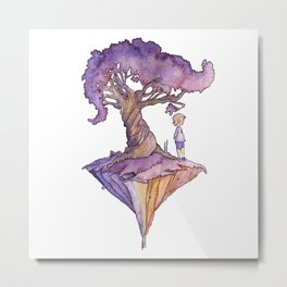 The Only Child Metal Print