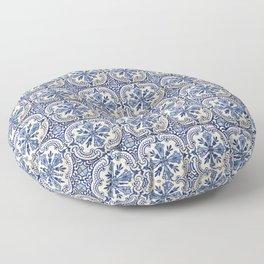 Azulejo — Portuguese ceramic #14 Floor Pillow