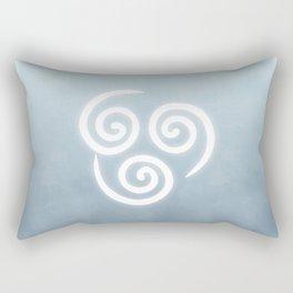 Avatar Air Bending Element Symbol Rectangular Pillow